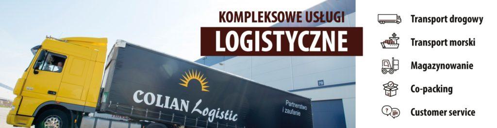 Colian Logistics - usługi