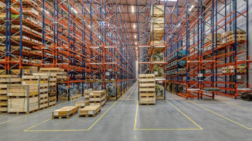 Nowy magazyn klasy A Enterprise Logistics 4