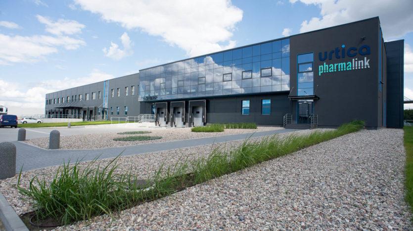 Hub logistyczny Urtica - Pharmalink - Pelion